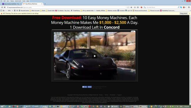 easy money machine car