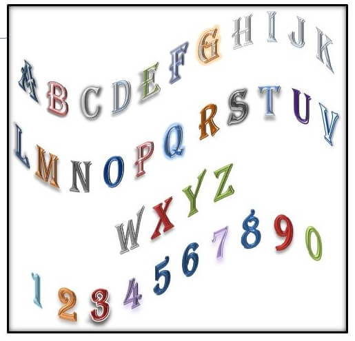 Alphabet Soup Technique using the ABC and Numbers
