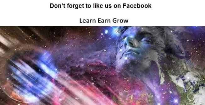 Follow and Like us on Facebook Learn Earn Grow