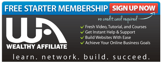 Learn Earn Grow join for free with Wealthy Affiliate
