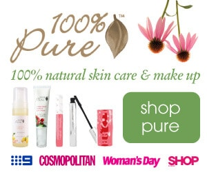 100 percent pure available through Nourished Life