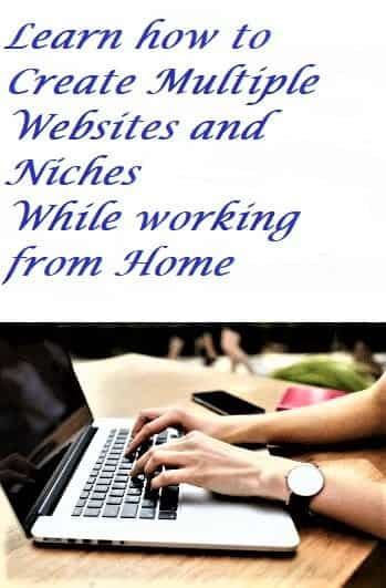 Learn how to work from home and create your own website online