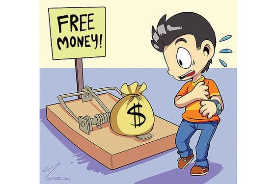 Some Fake Training Programs Love to offer Free Money Online Opportunities