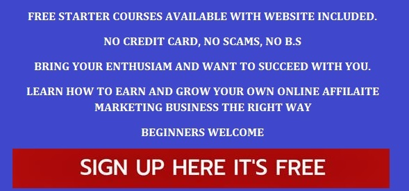 Banner for Free Starter Courses Available Start Now